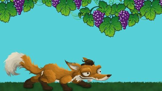 La zorra y las uvas